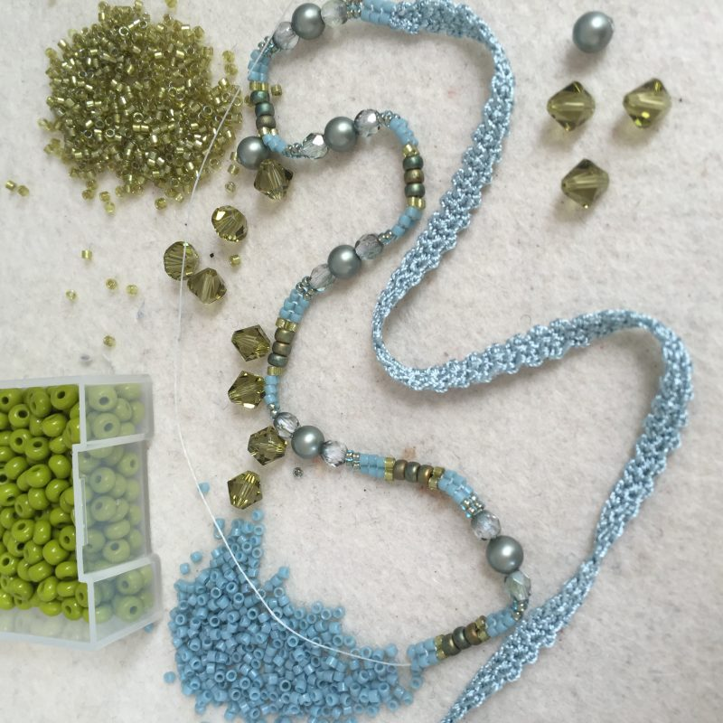 Perlenarbeit